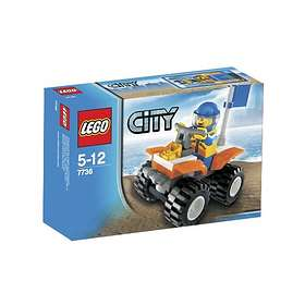 LEGO City 7736 Coast Guard Quad Bike