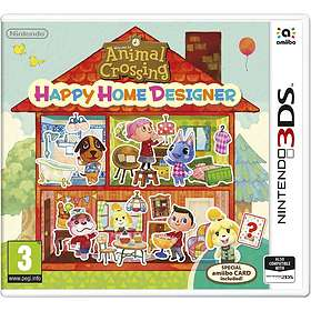 Animal Crossing: Happy Home Designer (incl. Amiibo Card) (3DS)