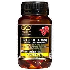 Go Healthy Krill Oil 1500mg Super Strength 30 Capsules