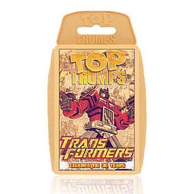 Top Trumps Transformers Retro