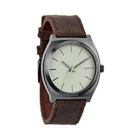 Nixon The Time Teller Leather