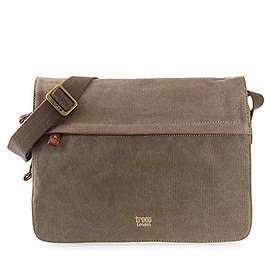 Troop London Classic Canvas Messenger Bag (TRP0241)