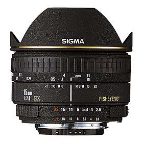 Sigma 15/2.8 EX DG Fisheye for Canon