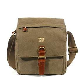 Troop London Classic Canvas Crossbody Bag (TRP0211)