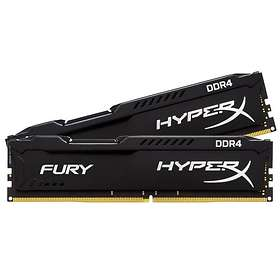 Kingston HyperX Fury Black DDR4 2666MHz 2x4GB (HX426C15FBK2/8)