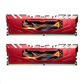 G.Skill Ripjaws 4 Red DDR4 2400MHz 2x8GB (F4-2400C15D-16GRR)