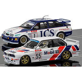 Scalextric Touring Car Legends Ford Sierra RS500 & BMW E30 2-Pack (C3693A)