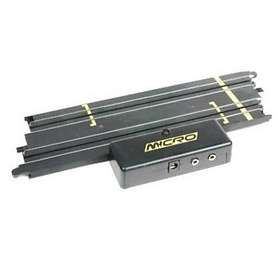 Scalextric Micro Power Base/Terminal Track 229mm (G107)