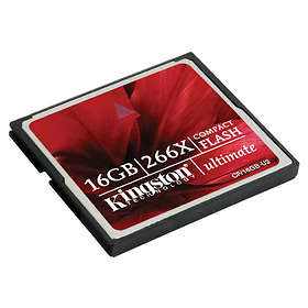 Kingston Ultimate Compact Flash 266x 16GB