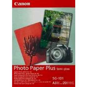Canon SG-101 Photo Paper Plus Semi-gloss Satin 260g A3 20pcs