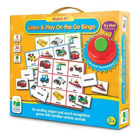 The Learning Journey International Match It! Listen And Play Bingo - On The Go