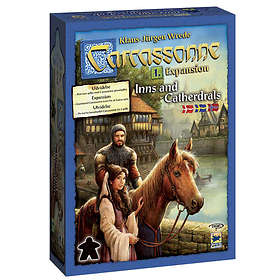 Carcassonne: Inns & Cathedrals (2nd Edition) (exp. 1)