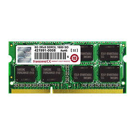 Transcend JetRam SO-DIMM DDR3L 1600MHz Apple 8GB (TS8GJMA384H)