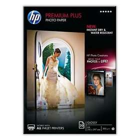 HP Premium Plus Glossy Photo Paper 300g A4 20pcs