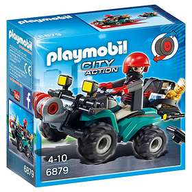 Playmobil City Action 6879 Robber's Quad with Loot