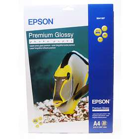 Epson Premium Glossy Photo Paper 255g A4 20pcs