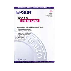 Epson Photo Quality Ink Jet Paper 104g A3 100pcs