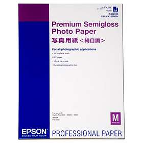 Epson Premium Semi-gloss Photo Paper 250g A2 25pcs