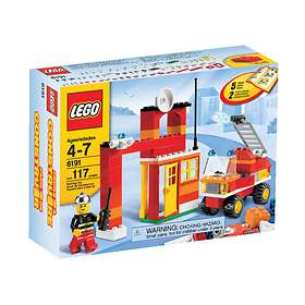 LEGO Basic 6191 Fire Fighter Building Set