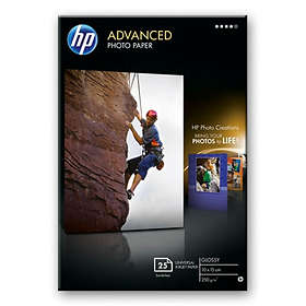 HP Advanced Glossy Photo Paper 250g 10x15cm 25pcs