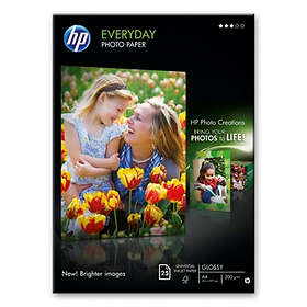 HP Everyday Semi-gloss Photo Paper 170g A4 25pcs
