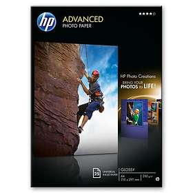 HP Advanced Glossy Photo Paper 250g A4 25pcs