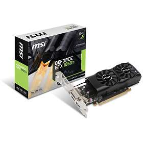 MSI GeForce GTX 1050 Ti Dual Fans LP HDMI DP 4GB