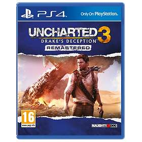 Uncharted 3: Drake's Deception - Remastered (PS4)