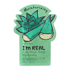Tony Moly I'm Real Aloe Moisturizing Mask Sheet 1pcs