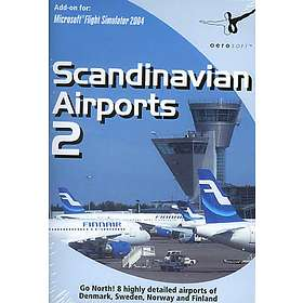 Flight Simulator 2002/2004: Scandinavian Airports 2 (Expansion) (PC)