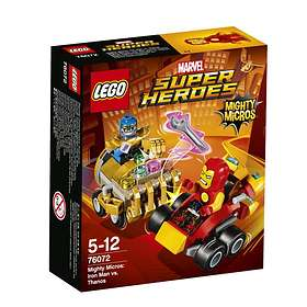 LEGO Marvel Super Heroes 76072 Mighty Micros: Iron Man vs. Thanos