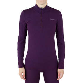 Craft Wool Comfort LS Shirt Half Zip (Women's)