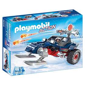 Playmobil Sports & Action 9058 Ice Pirate with Snowmobile