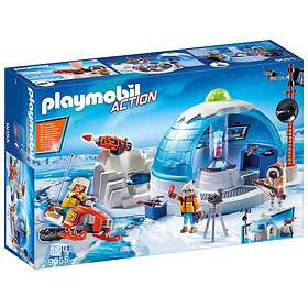 Playmobil Sports & Action 9055 Arctic Expedition Headquarters
