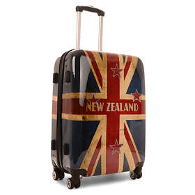 NZ Luggage Co Iconic New Zealand Flag Hardside Trolley 90L