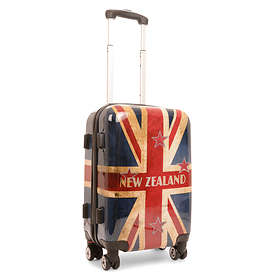 NZ Luggage Co Iconic New Zealand Flag Hardside Trolley 50L