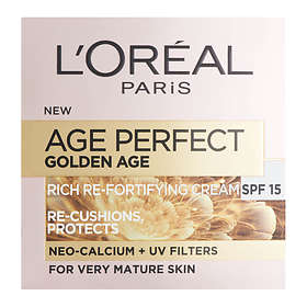 L'Oreal Age Perfect Golden Age Rich Re-Fortifying Cream Mature Skin SPF15 50ml