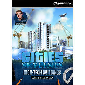 Cities: Skylines: Content Creator Pack: High-Tech Buildings (Expansion) (PC)
