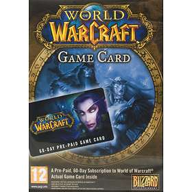 World of Warcraft - 60 Day Game Time Card