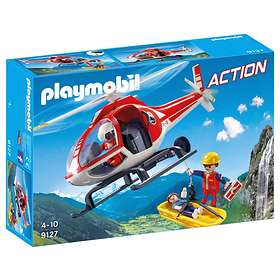 Playmobil Action 9127 Mountain Rescue Helicopter