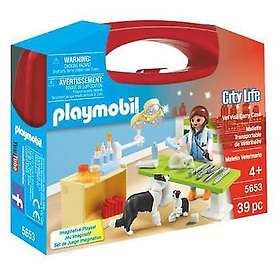 Playmobil City Life 5653 Vet Visit Carry Case