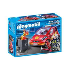 Playmobil City Action 9235 Firefighter with Car