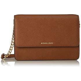 ee1124e91cc8 Find the best price on Michael Kors Daniela Large Leather Crossbody ...