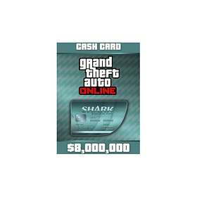 Grand Theft Auto Online: Megalodon Shark Cash Card - $8.000,000 (PC)