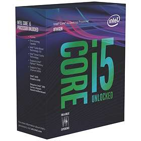 Intel Core i5 8600K 3.6GHz Socket 1151-2 Box without Cooler
