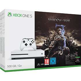 Microsoft Xbox One S 500GB (incl. Middle-earth: Shadow of War)