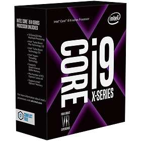 Intel Core i9 7960X 2.8GHz Socket 2066 Box without Cooler