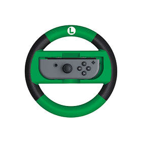 Hori Mario Kart 8 Deluxe Racing Wheel - Luigi Edition (Switch)