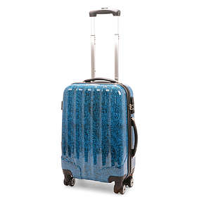 NZ Luggage Co Snow Print Hardside Trolley 48L