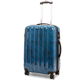 NZ Luggage Co Snow Print Hardside Trolley 80L